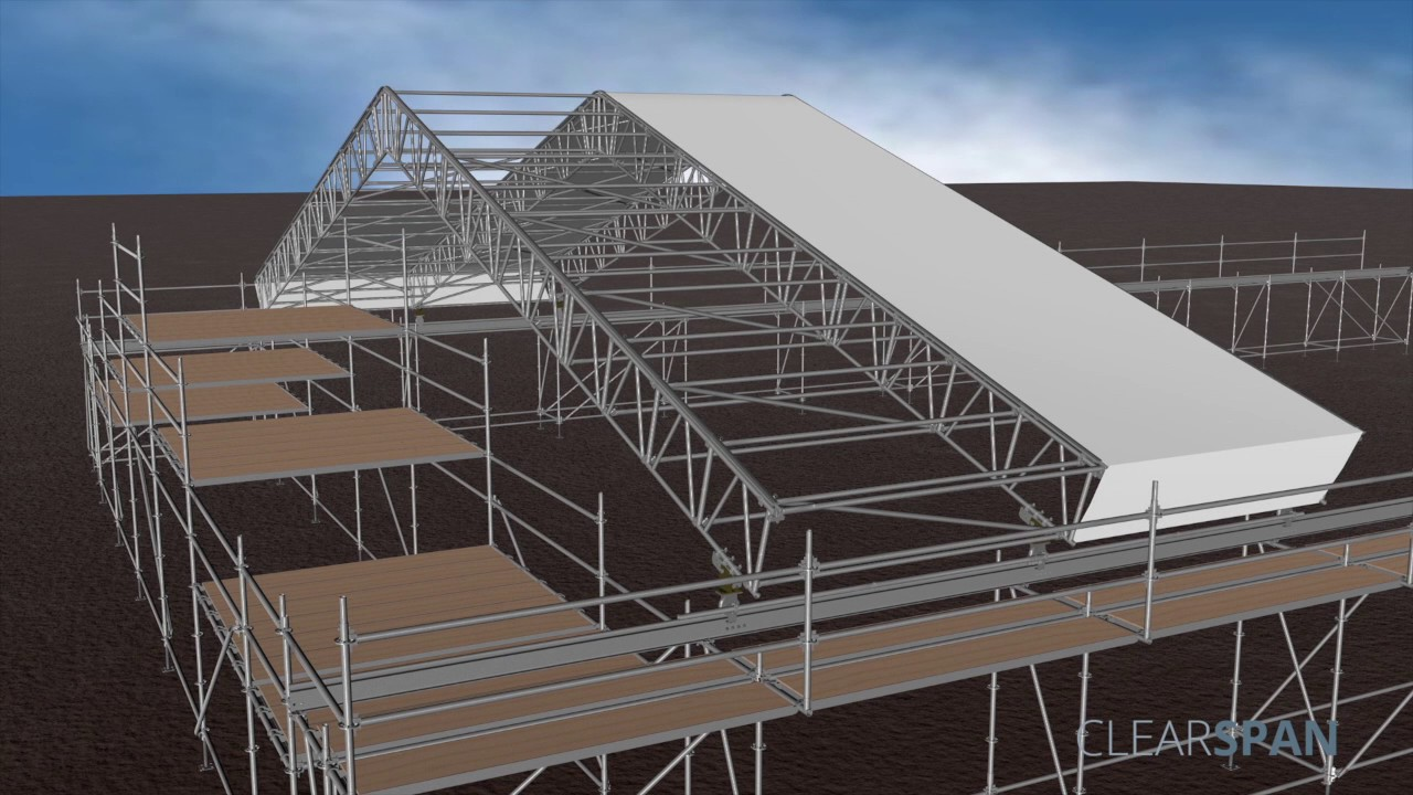 Temporary Roof System Ssp Global