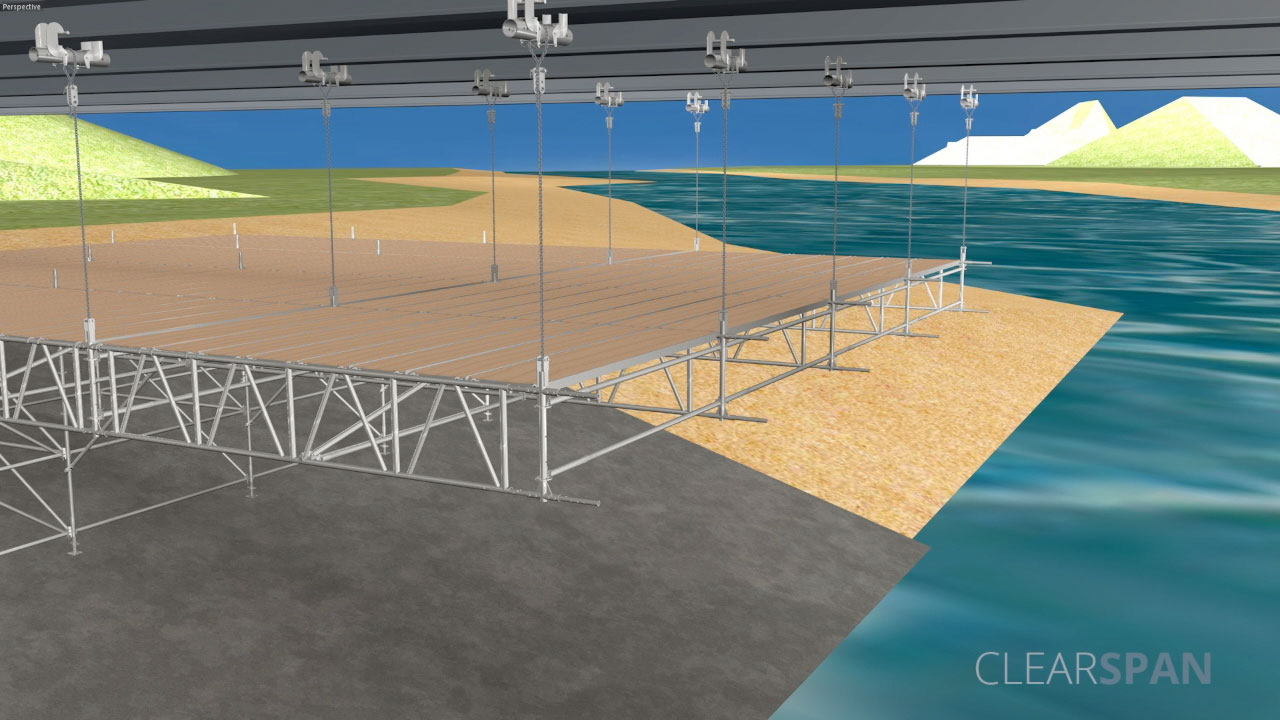 CLEARSPAN – SUSPENDED DECK SYSTEM